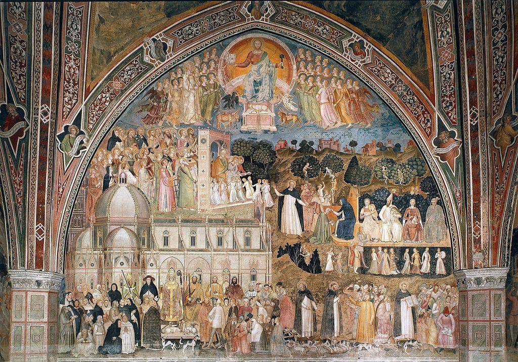 Via Veritatus or the Church Militant and Church Triumphant