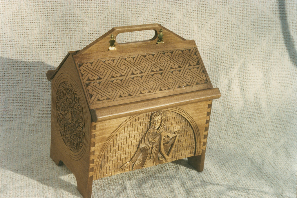 American Basswood - carved box