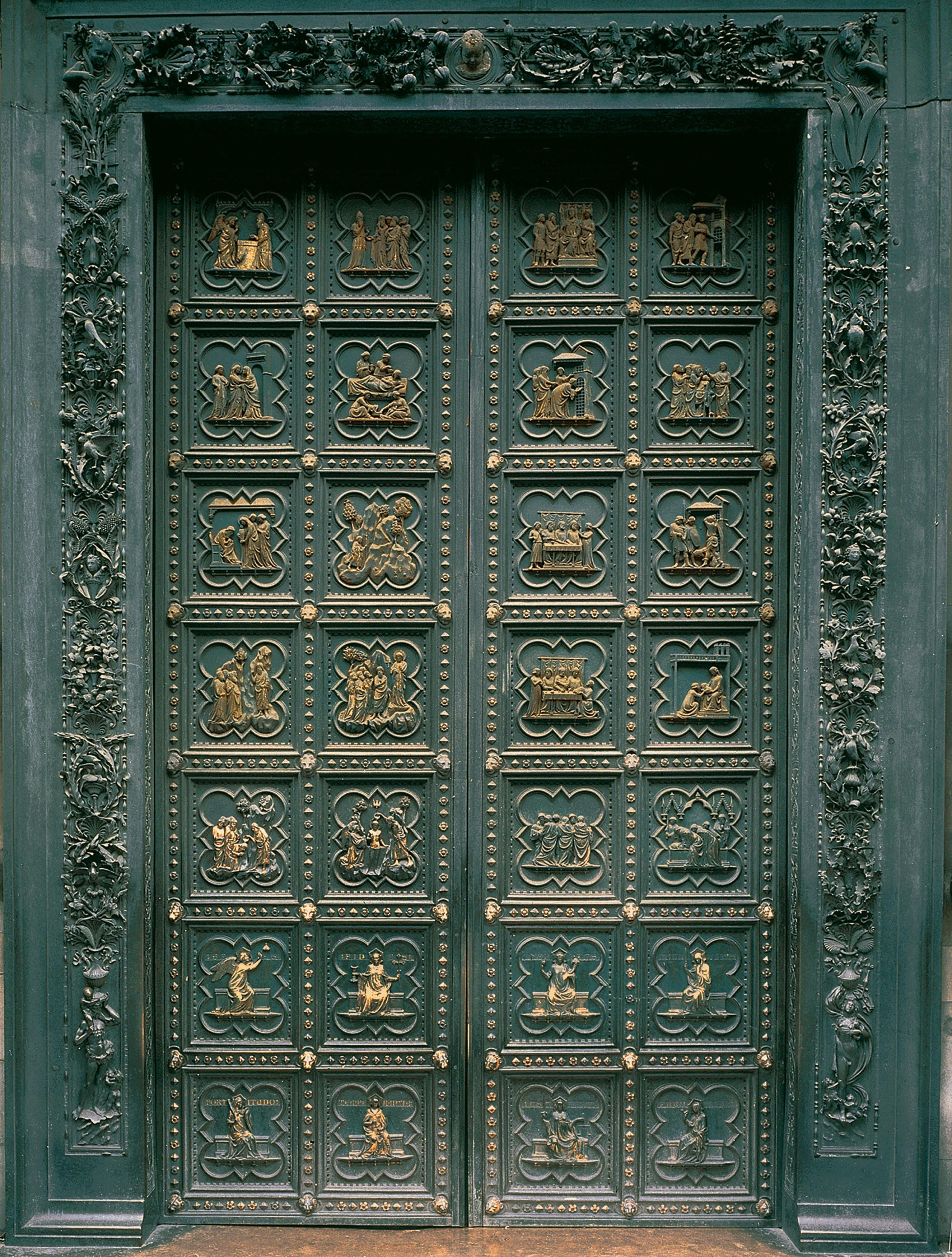 San Giovanni South Doors (Life of St John the Baptist) & Omeka@CTL | Italy in Crisis: Plague in the 14th Century : Tuscany ... Pezcame.Com