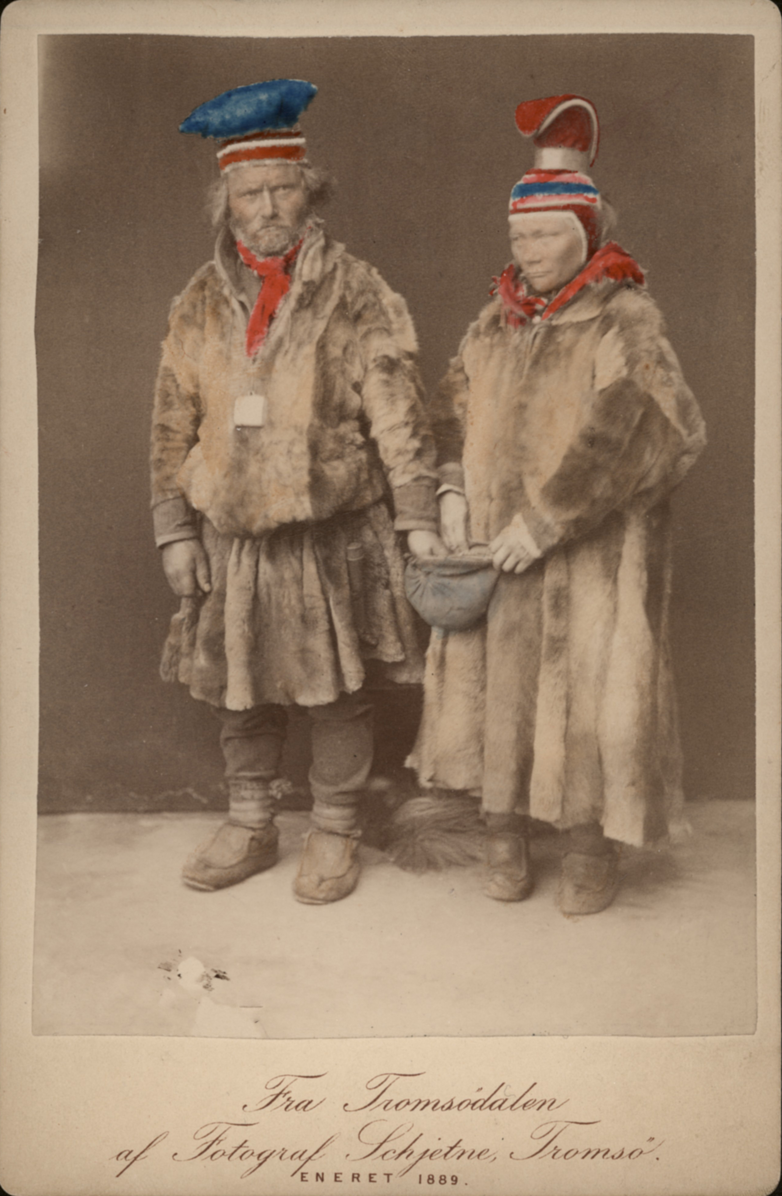 """""""Two People Dressed in Fur"""""""