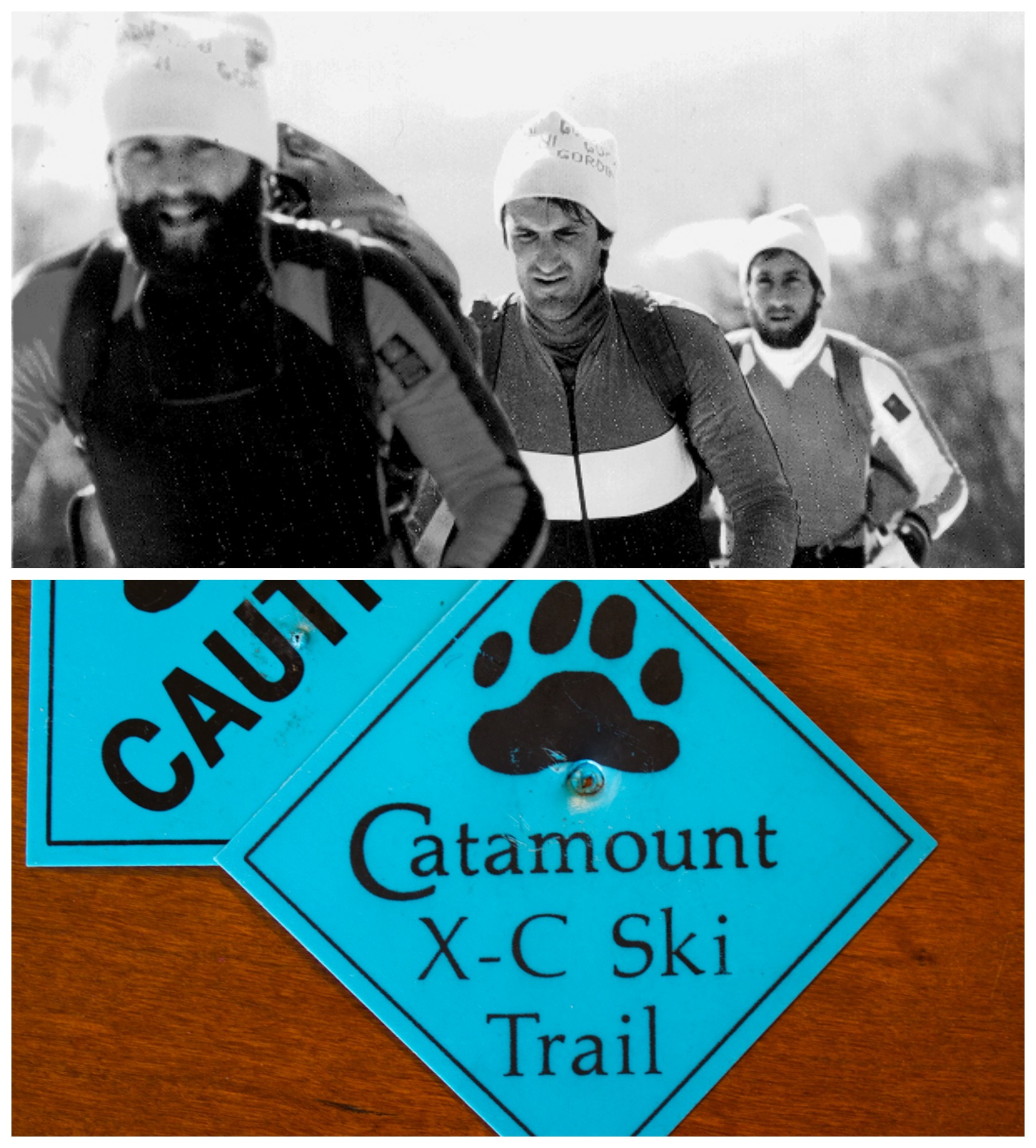 The Catamount Trail: The Length of Vermont on Skis,<br />