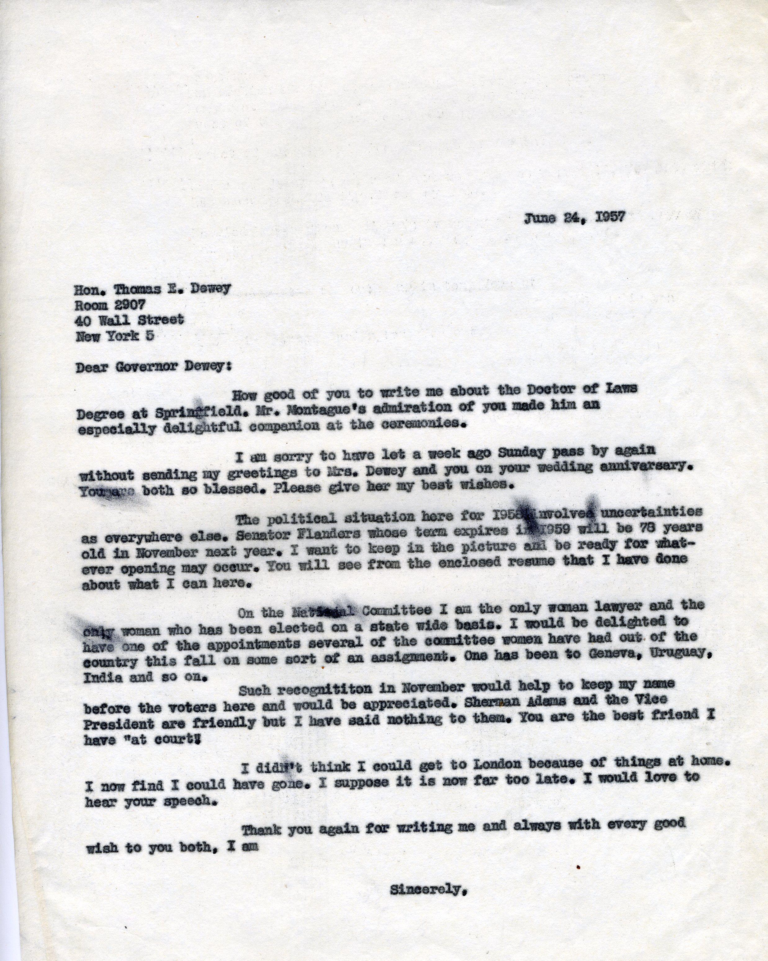 Omekactl letter from consuelo northrop bailey to thomas dewey letter from consuelo northrop bailey to thomas dewey 1957 june 24 mitanshu Gallery