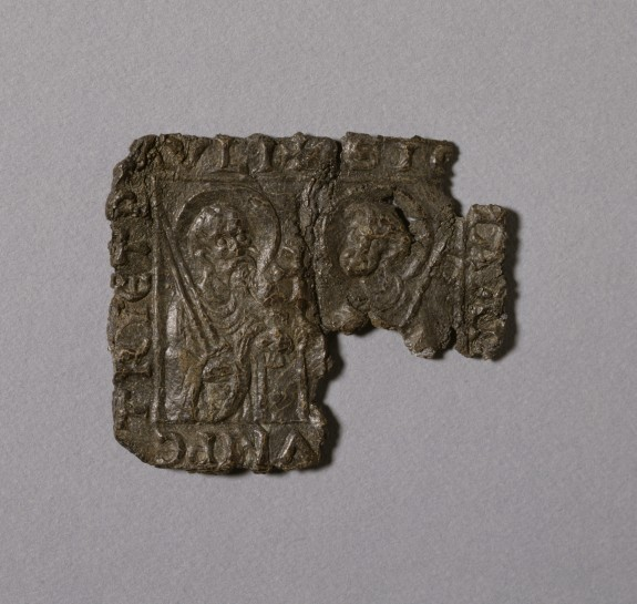 Pilgrim's Badge with Saint's Peter and Paul