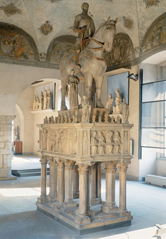 Equestrian Tomb of Bernabò Visconti
