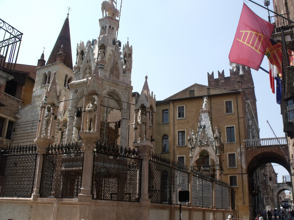 Santa Maria Antica and Scaliger Tombs, Verona