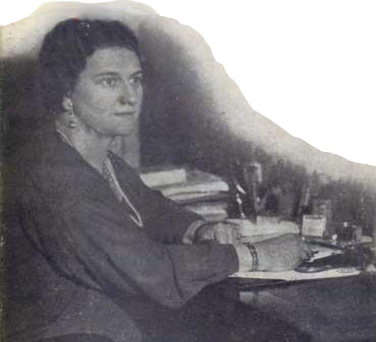 Frances Parkinson Keyes, book jacket photo, 1924