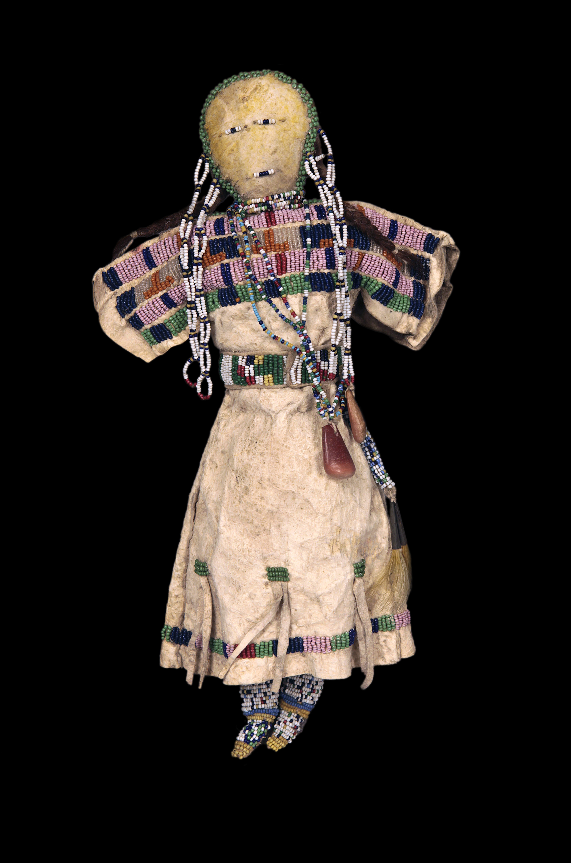 Omeka At Ctl Human Forms Human Functions Dolls Sioux Doll