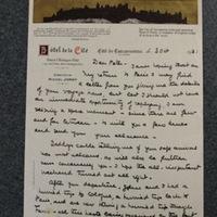FPK to Peter Keyes, October 3, 1931