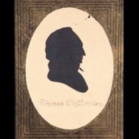 Thomas Chittenden Silhouette
