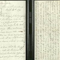 Letter from Louise to Fannie- March 15, 1896