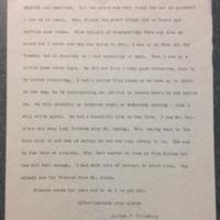 Louise Pillsbury to Cornelia (Fannie) Hill, May 6, 1895
