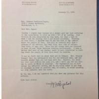 W. F. Bigelow to FPK, February 11, 1932