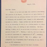 Ferris Greenslet to FPK, July 9, 1919