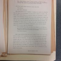 """An Outline for a Tentative Article Entitled """"Heroines to their Dressmaker,"""" 1935"""