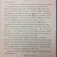 H.C. Pearson to FPK<br /> Letter, 1919 June 02