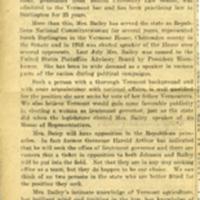 1954 November 12, Newport Express, For Joe Johnson and Mrs. Bailey