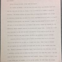 A Letter from Frances Parkinson Keyes to her Mother, June 4, 1902