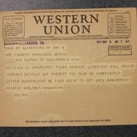 Julian Messner to FPK, May 5, 1933