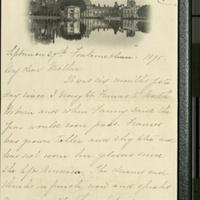 Louise Pillsbury to FPK, September 29, 1895