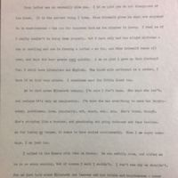 A Letter from Frances Parkinson Keyes to her Mother, January 31, 1901