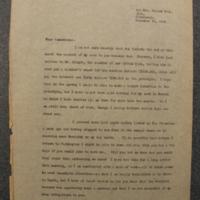 FPK to Genevieve Gudger, November 12, 1934