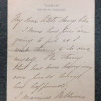 Louise Taisey (mother) to FPK, September 27, 1915