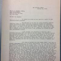 FPK to Bigelow, October 11, 1928