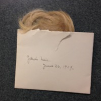 A lock of John Keyes's hair