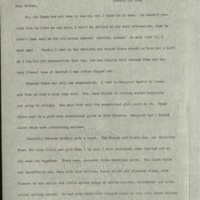 Letter from Frances to Louise- January 24, 1901