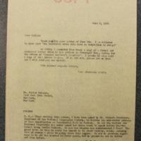 FPK to Julian Messner, June 6, 1933
