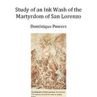 Study of an Ink Wash of the Martyrdom of San Lorenzo