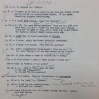 "Notes on ""Madame Castel's Lodger"""