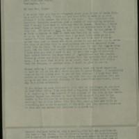 William Frederick Bigelow to FPK, April 7, 1920