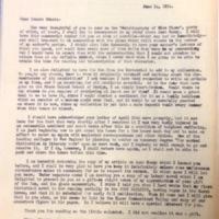 FPK to Edna Hale, June 14, 1934