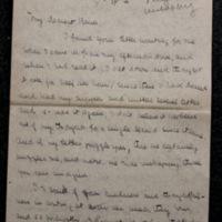 FPK to Harry Keyes, [1903]