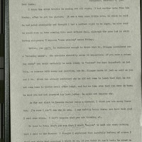 Letter from Frances to Louise- February 6, 1901