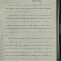 Letter from Frances to Louise- February 27, 1901