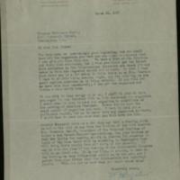 William Frederick Bigelow to FPK, March 25, 1920
